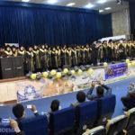 جشن دانشآموختگی دانشجویان دانشگاه میبد برگزار شد + تصاویر