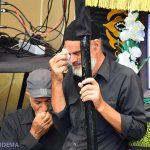 گزارش تصویری از تاسوعای حسینی در کوچهباغ میبد + کلیپ