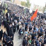 گزارش تصویری از تشییع کم نظیر و باشکوه تابوت مطهر شهید گمنام در مسیر شش کیلومتری