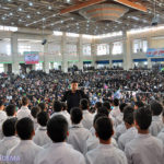 گزارش تصویری از راهپیمایی ۲۲ بهمن در میبد / بخش اول