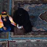 گزارش تصویری از مراسم احیای شب قدر در امامزاده میرشمس الحق