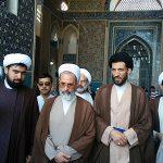 تصاویر/ بازدید آیت الله اعرافی از مسجد جامع یزد