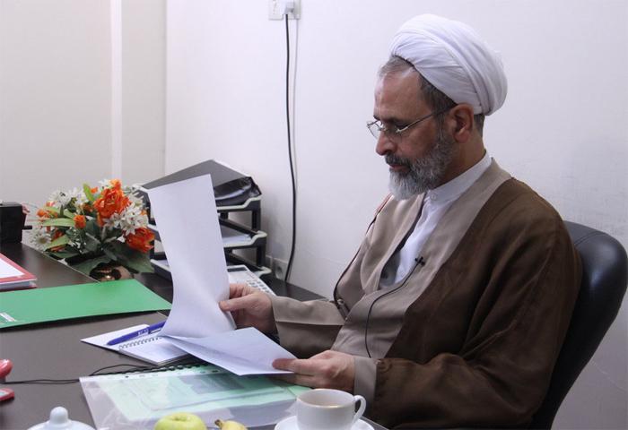 پیام تقدیر و تشکر آیت الله اعرافی از خدمات ارزنده آقای دکتر حسین دهقانی