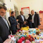 بازدید مسئولینمیبد از مرکز سالمندان حبیبابنمظاهر