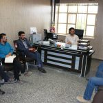 دیدار اعضایشورایمهرآباد و بدرآباد با بخشدار جدید میبد