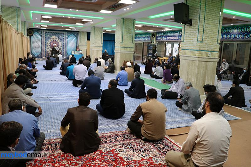 گزارش تصویری از مراسم سالگرد حاج حبیب برزگری در میبد