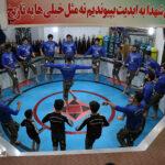 گزارش تصویری از اجرای ورزش زورخانه ای در فیروزآباد میبد