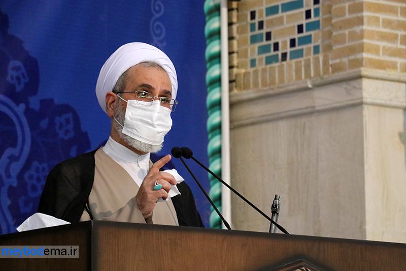 همه عظمت ایران به انتخابات باشکوه گرهخورده است + گزارش تصویری اولین نماز جمعه سال جدید