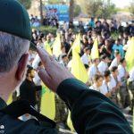 گزارش تصویری از مراسم رژه نیروهای مسلح در شهرستان میبد