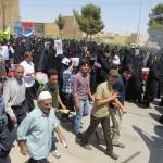 تصاویر میبدما از حضور دشمنشکن میبدیها در راهپیمایی روز قدس