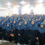 گزارش تصویری از گرامیداشت سالروز سفر مقام معظم رهبری به یزد در آموزشگاه امام حسین(ع) بارجین