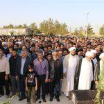 📷 مراسم تشییع پیکر حاج شیخ حسن حجتی