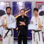 افتخارآفرینی ورزشکاران پایگاه امام حسین (ع) بارجین در رشته کاراته شین رزم ذوالفقار