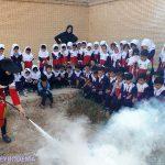 """گزارش تصویری از اجرای طرح """"هر خانواده یک امدادگر"""" در مهد کودک های میبد"""