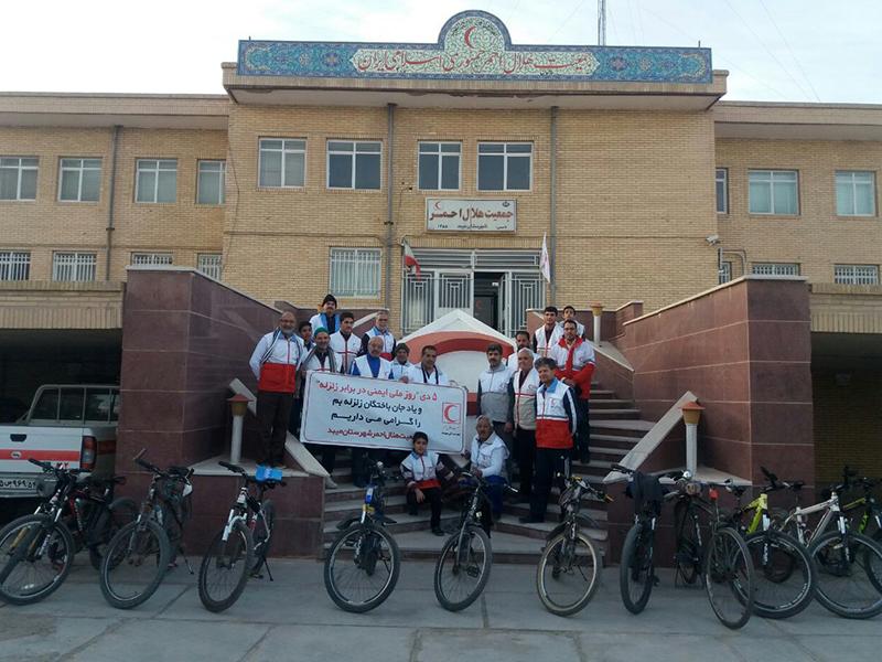 برگزاری همایش دوچرخه سواری در میبد
