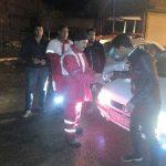 نجات ۹ نفر از برف و سرما در میبد