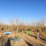 فضای سبز شهرک فجر بیده بدون مجوز ایجاد شده است/ تصاویر