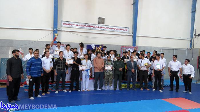 مسابقات چهارجانبه شینرزمذوالفقار استانی در میبد برگزار شد/ تصاویر
