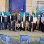 مراسم تکریم از خبرنگاران میبدی با حضور آیت الله اعرافی+ عکس
