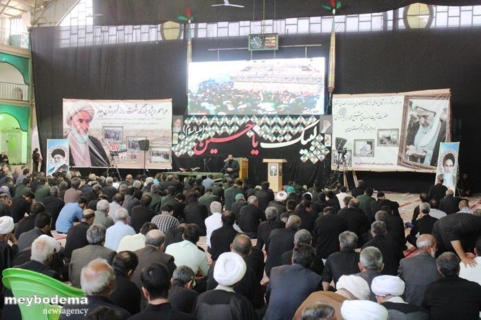 گزارش تصویری از مراسم سالگرد مرحوم آیت الله محمد ابراهیم اعرافی