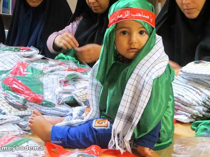 گزارش تصویری از آماده سازی مقدمات همایش جهانی حضرت علی اصغر(ع) در شهرستان میبد
