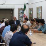شهردار جدید میبد با برخی از اعضای هیئت موسس جبهه فرهنگی انقلاب شهرستان میبد دیدار کرد