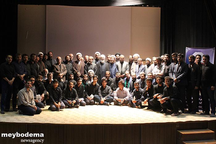 گزارش تصویری از برگزاری دهمین همایش جبهه فرهنگی انقلاب اسلامی شهرستان میبد