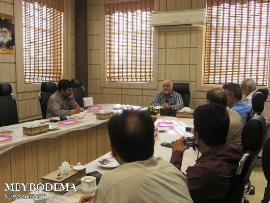 دیدار اصحاب رسانه و مدیریت شهرک های صنعتی به مناسبت روز خبرنگار