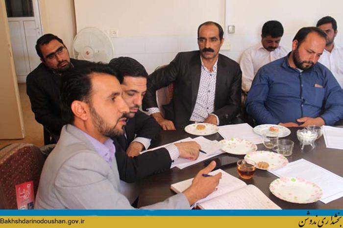 برگزاری جلسه معرفی طرحهای روستامحور در ندوشن