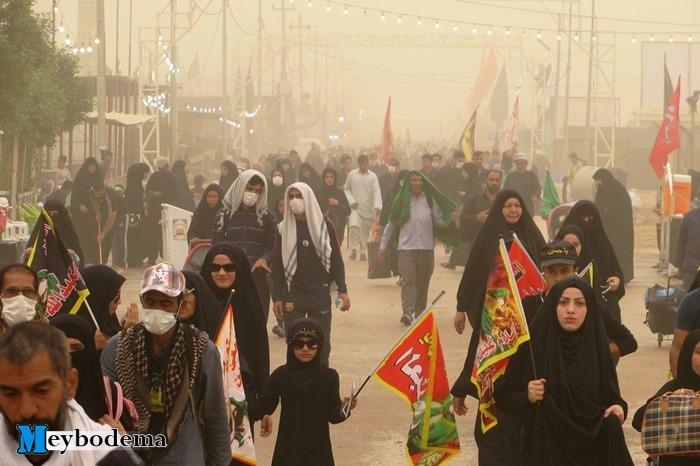 گزارش تصویری از پیاده روی نجف تا کربلا در ایام اربعین/ بخش اول تصاویر