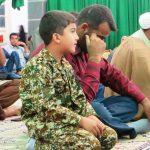 """گزارش تصویری از مراسم بزرگداشت شهید حججی در """"شهرک فجر بیده"""""""