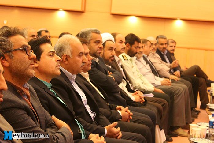 گزارش تصویری از مراسم تودیع و معارفه رؤسای مرکز ژنتیک و سازمان بهزیستی میبد