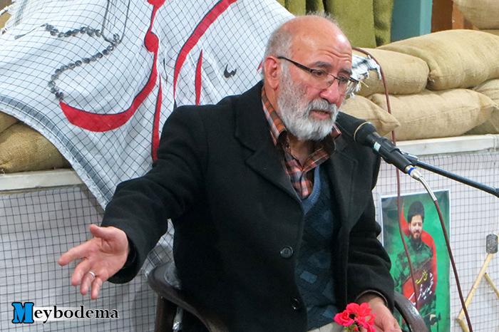 """گزارش تصویری از مراسم هفتگی """"حس گمنامی"""" با حضور سردار فتوحی در میبد"""