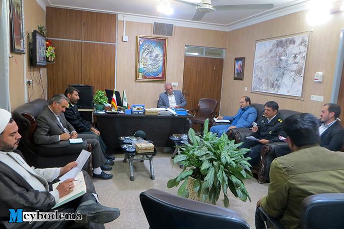 سومین جلسه کارگروه پیشگیری از تصادفات شهرستان میبد برگزار شد/ همراه با تصاویر