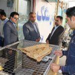بازدید سرزده فرماندارمیبد از نانواییهای سطح شهر