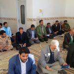 گزارش تصویری از دیدار مسئولین استانی و شهرستانی از خانواده شهید شاخص اصناف استان یزد در میبد