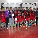 مسابقات قهرمانی فوتسال دانشآموزی میبد برگزار شد