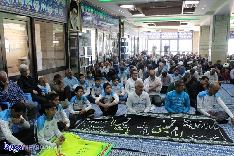 گزارش تصویری/ مراسم سالگرد امام خمینی(ره) در میبد