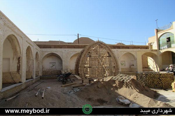 پیشرفت ۷۰درصدی عملیات مرمت حسینیه کوچه باغ