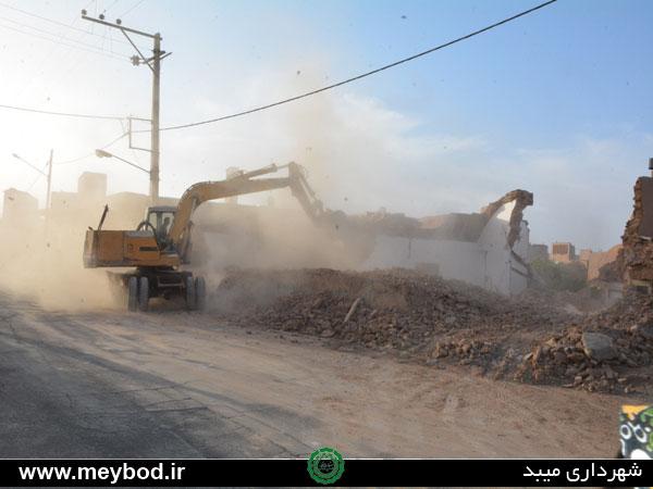 ازادسازی قسمتی از خیابان بارجین انجام شد