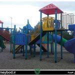 نصب مجموعه وسایل بازی کودکان در پارک غدیر