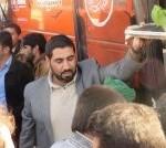 اعزام کاروان پیادهروی اربعین عطشان الحسین بارجین میبد+عکس