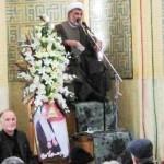 در مراسم سومین روز درگذشت مرحوم حاج شیخ حسن هدایی چه گذشت؟