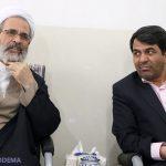 استاندار یزد با آیت الله اعرافی دیدار و گفتگو کرد + تصاویر