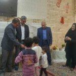 دیدار عیدانه با کودکان بی سرپرست و بدسرپرست