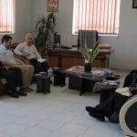 جلسه اعضای موسسه سپیدهمهر با ریاست بهزیستی میبد