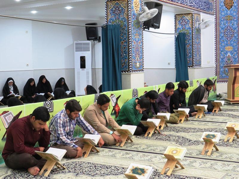 تصاویر/ طرح تلاوت و تفسیر در دانشکده علوم قرآنی