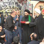 اهدای پرچم گنبد حضرت ابوالفضل(ع) به خیّر میبدی