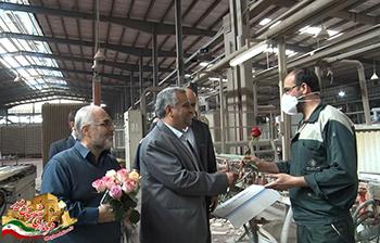 قدردانی فرماندار از مدیران و کارگران واحدهای صنعتی