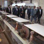 استاندار یزد از یک واحد صنعتی میبد بازدید کرد
